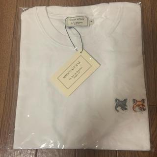 メゾンキツネ(MAISON KITSUNE')のメゾンキツネTシャツ Sサイズ 最終値下げ(Tシャツ(半袖/袖なし))