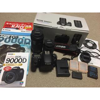 Canon - キャノン一眼レフカメラ Canon EOS 9000D Wズームキット