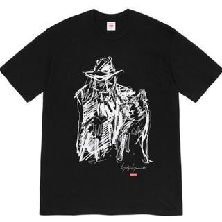 Supreme - Supreme Yohji Scribble Portrait Tee 黒L