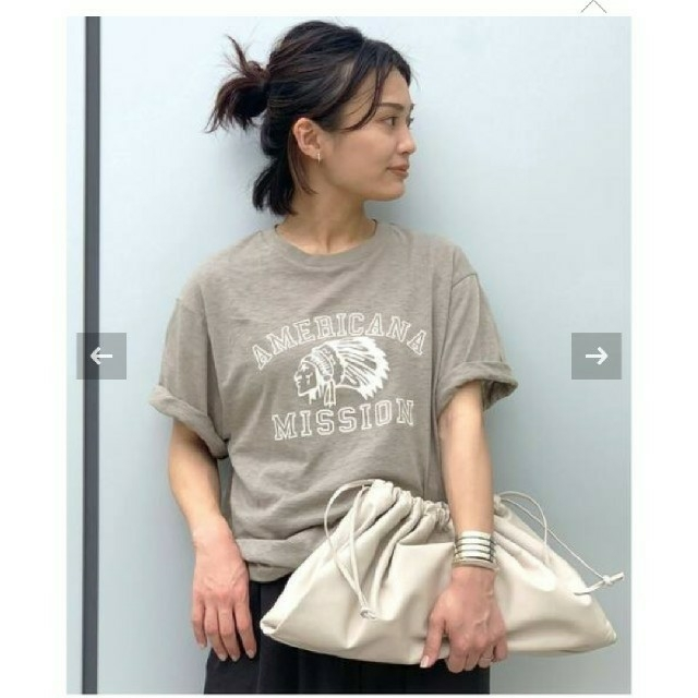 DEUXIEME CLASSE(ドゥーズィエムクラス)のAP STUDIO【AMERICANA】別注 インディアン Tシャツ レディースのトップス(Tシャツ(半袖/袖なし))の商品写真