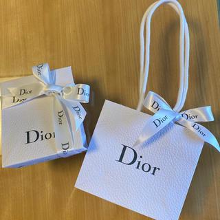 ディオール(Dior)のディオール ラッピングキット リボン付きギフトボックス  +ショッパー(ラッピング/包装)