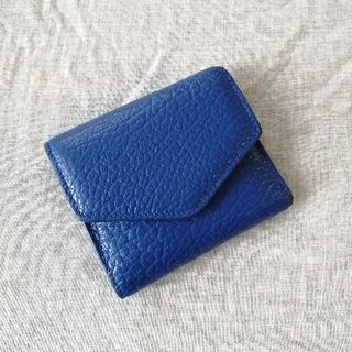 Maison Martin Margiela - 【美品】メゾンマルジェラ 三つ折り財布 青