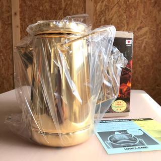 ユニフレーム(UNIFLAME)のUNIFLAME キャンプケトル ゴールド(調理器具)