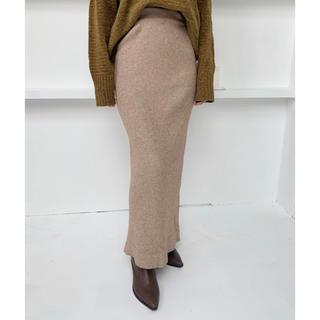 《即発送》Neuna リブタイトロングスカート