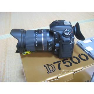 Nikon - 保障残有りNikon D7500 レンズ付き
