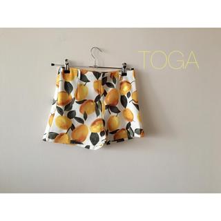 トーガ(TOGA)のTOGA購入♡古着レモン柄🍋パンツ(ショートパンツ)