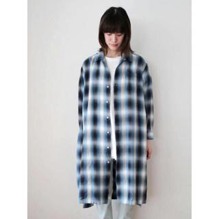 フィーニー(PHEENY)のpheeny  Ombre check shirt gown (シャツ/ブラウス(長袖/七分))