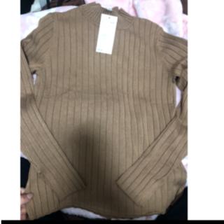 エイチアンドエム(H&M)の新品h&m❤️リブニット(カットソー(長袖/七分))