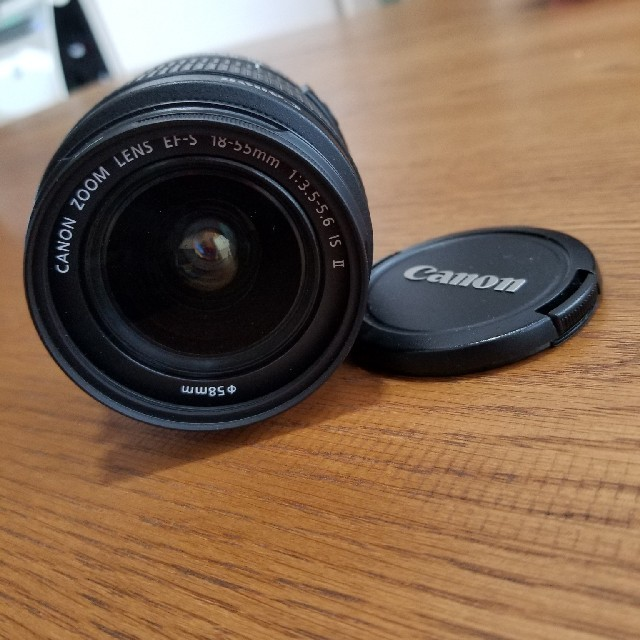Canon  レンズ EFS18-55㎜ MACRO 0.25m/0.8ft スマホ/家電/カメラのカメラ(レンズ(ズーム))の商品写真