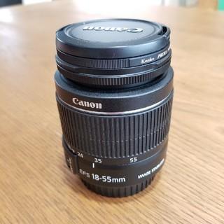 Canon  レンズ EFS18-55㎜ MACRO 0.25m/0.8ft