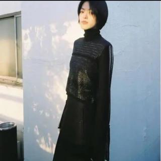 マメ(mame)の【新品未使用】mame タートルネックセーター ニット(ニット/セーター)