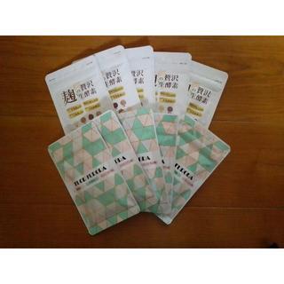 フロラフローラ &麹の贅沢生酵素 各×5袋(その他)