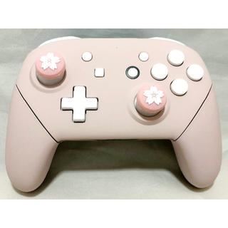 ニンテンドウ(任天堂)の純正 Nintendo Switch プロコントローラー - ピンク(その他)