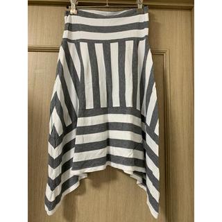 ギャップ(GAP)のGAP#ストライプフレアースカート#サイズXS(ひざ丈スカート)