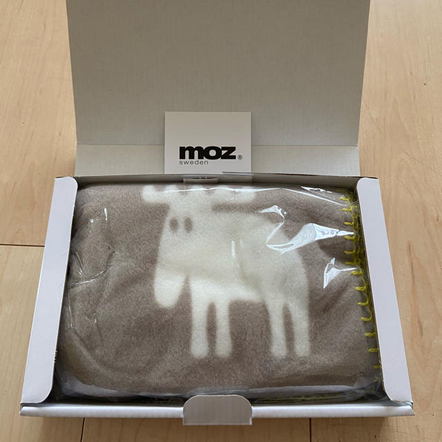 MOZ ブランケット キッズ/ベビー/マタニティのこども用ファッション小物(おくるみ/ブランケット)の商品写真