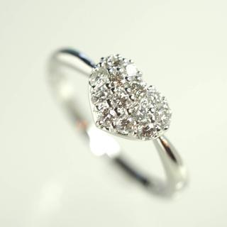 ヴァンドームアオヤマ(Vendome Aoyama)の質屋出品vm VENDOME ヴァンドーム ダイヤモンドリング K18WG(リング(指輪))