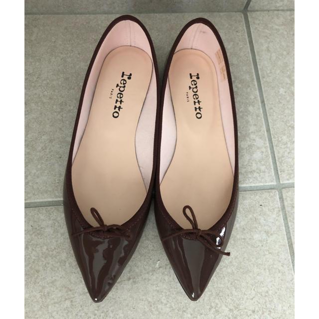 repetto(レペット)の【美品】レペット フラットパンプス レディースの靴/シューズ(バレエシューズ)の商品写真