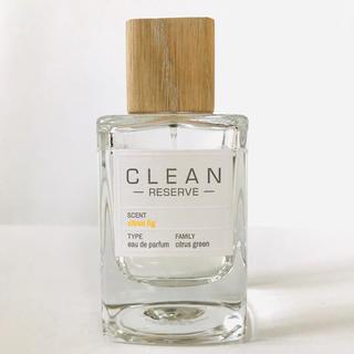 クリーン(CLEAN)のクリーンリザーブ シトロンフィグ  香水 100ml(ユニセックス)