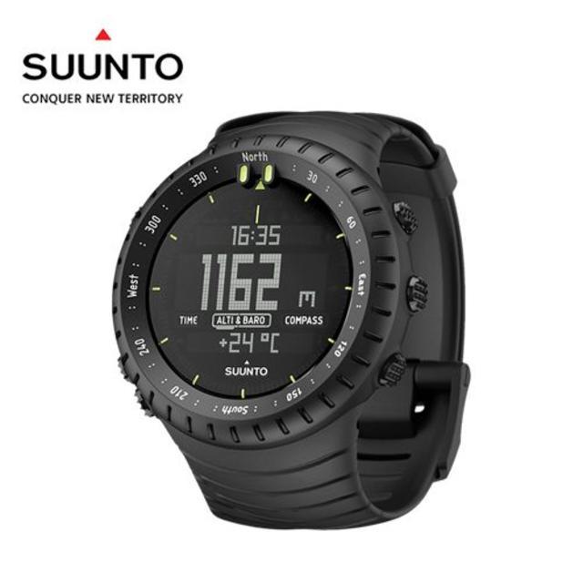 SUUNTO(スント)の新品 SUUNTO Core All Black スント コア オールブラック メンズの時計(腕時計(デジタル))の商品写真