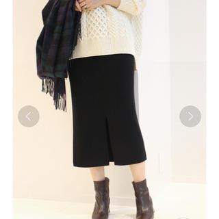 フレームワーク(FRAMeWORK)の★FRAMeWORK★スムースタイトスカート★ブラック★36★(ロングスカート)