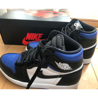 ナイキ(NIKE)のair jordan1 royal toe(スニーカー)
