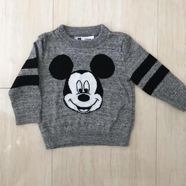 babyGAP(ベビーギャップ)のbaby Gap セーター 長袖 80 12-18ヶ月 ディズニー キッズ/ベビー/マタニティのベビー服(~85cm)(ニット/セーター)の商品写真
