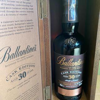 バランタインカシミヤ(BALLANTYNE CASHMERE)の国内未発売 バランタイン30年カスクエディション 500ml 限定品(ウイスキー)