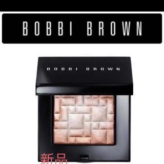 ボビイブラウン(BOBBI BROWN)のボビーブラウン  ハイライティングパウダー 01ピンクグロウ(フェイスカラー)