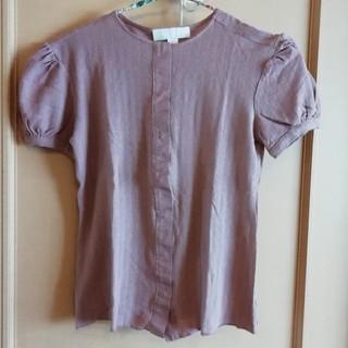 ジルスチュアート(JILLSTUART)のJILLSTUART フレンチ袖ブラウス(シャツ/ブラウス(半袖/袖なし))