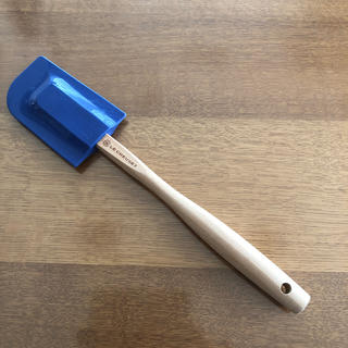 ルクルーゼ(LE CREUSET)のル・クルーゼ スパチュラ青(調理道具/製菓道具)