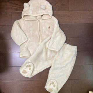 babyGAP - GAP くま モコモコ セットアップ