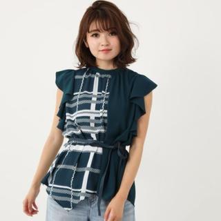 リエンダ(rienda)のトップス(Tシャツ(半袖/袖なし))