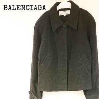 バレンシアガ(Balenciaga)の美品! BALENCIAGA バレンシアガ ウールジャケット サイズ38 (テーラードジャケット)