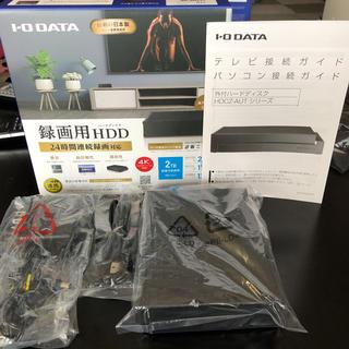 アイオーデータ(IODATA)のI・O DATA ほぼ新品!録画用HDD HDCZ-AUT2①(PC周辺機器)
