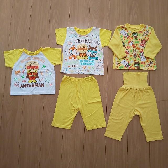 アンパンマンパジャマセット キッズ/ベビー/マタニティのキッズ服男の子用(90cm~)(パジャマ)の商品写真