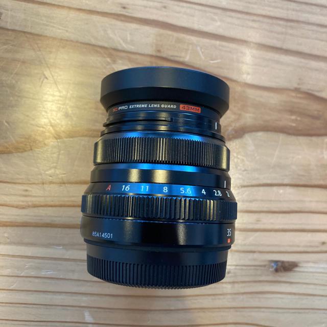 富士フイルム(フジフイルム)の値下げしました。xf35mmf2 スマホ/家電/カメラのカメラ(ミラーレス一眼)の商品写真