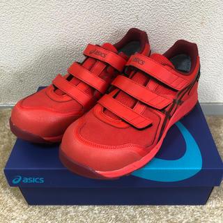 アシックス(asics)のGORE-TEX 安全靴 WINJOB CP602 G-TX 赤 27.5cm(スニーカー)