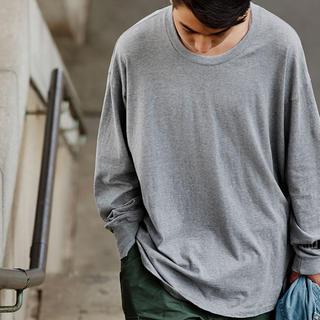 ワンエルディーケーセレクト(1LDK SELECT)の新品 久米繊維謹製 ビッグロングスリーブTシャツ スタイリスト私物 ポパイ(Tシャツ/カットソー(七分/長袖))