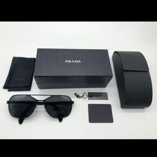 PRADA - PRADA プラダ サングラス 眼鏡 メガネ ティアドロップ SPR54R 黒