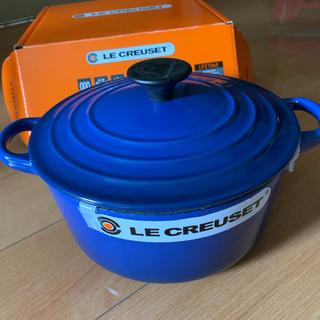 ルクルーゼ(LE CREUSET)のル・クルーゼ ココットロンド 18 cm(鍋/フライパン)