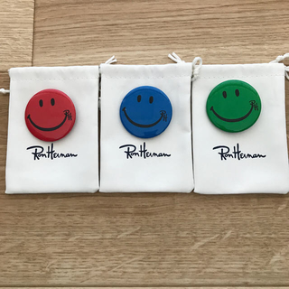 ロンハーマン(Ron Herman)のロンハーマン  缶バッジ3セット(バッジ/ピンバッジ)