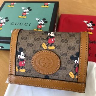 Gucci - ディズニー GUCCIコラボお財布 期間限定✨