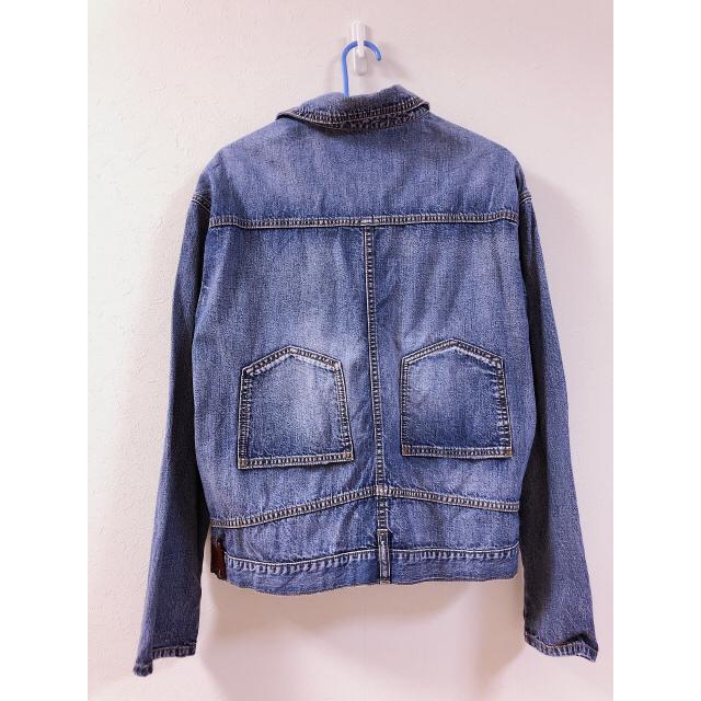 Ameri VINTAGE(アメリヴィンテージ)のアメリヴィンテージ デニムシャツ Gジャン レディースのジャケット/アウター(Gジャン/デニムジャケット)の商品写真