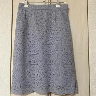 PROPORTION BODY DRESSING - パステルレースフロッキータイトスカート