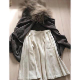 グレースコンチネンタル(GRACE CONTINENTAL)のグレースコンチネンタル ウールスカート(ひざ丈スカート)