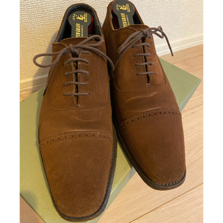 CHEANEY - CHEANEY SHIPS別注モデル スエードストレートチップ