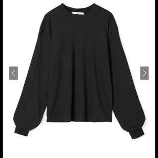 グレイル(GRL)のベーシックロンT ブラック(Tシャツ(長袖/七分))
