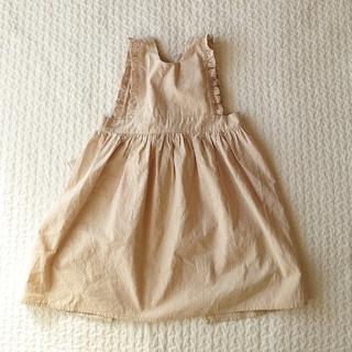 キャラメルベビー&チャイルド(Caramel baby&child )の【ご専用】ハンドメイド エプロンスカート ~105cm(ワンピース)