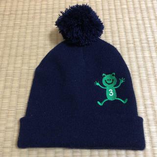 サンカンシオン(3can4on)の中古品☆3can4onニット帽(帽子)