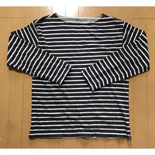 ギャップ(GAP)のGAP ギャップ メンズ長袖ボーダーカットソー ロンT(Tシャツ/カットソー(七分/長袖))